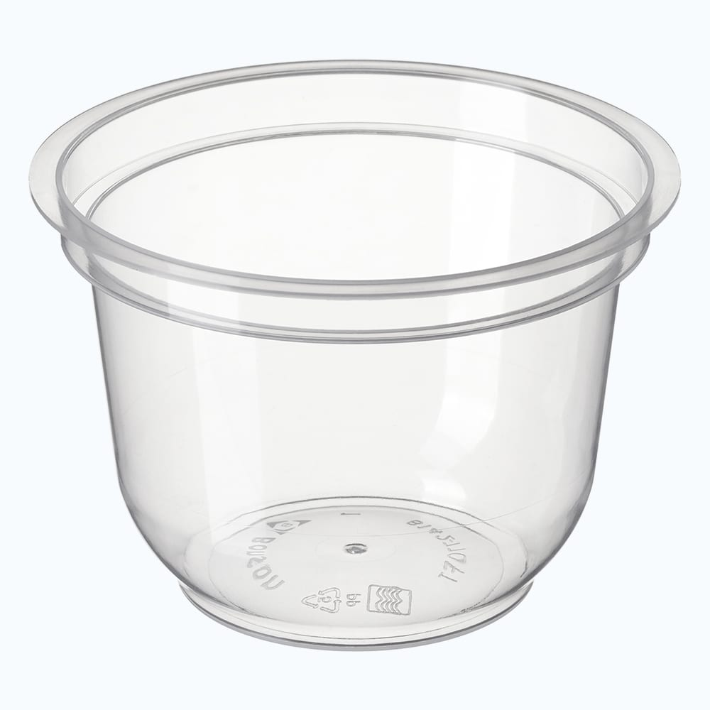 BetterSelection® PP Round Flanged Top Container