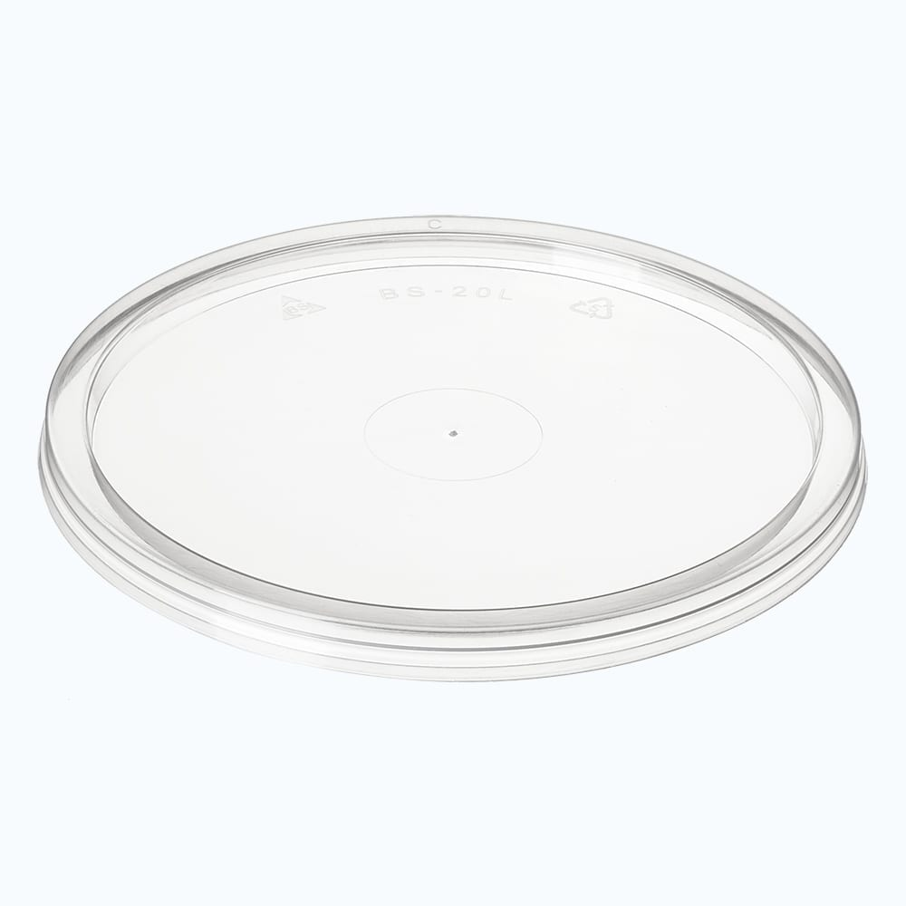 BetterSelection® PP Round Container Flat Lid