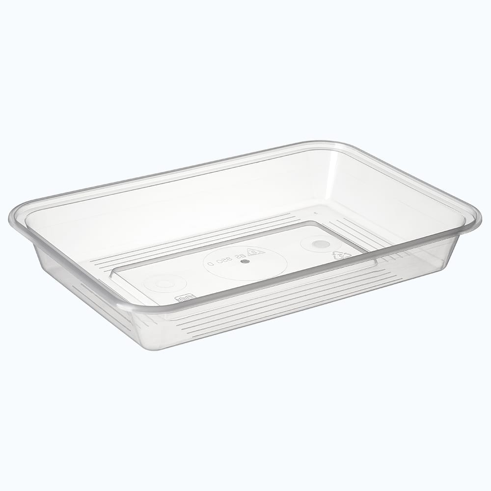 BetterSelection® PP Rectangular Wide Base Container