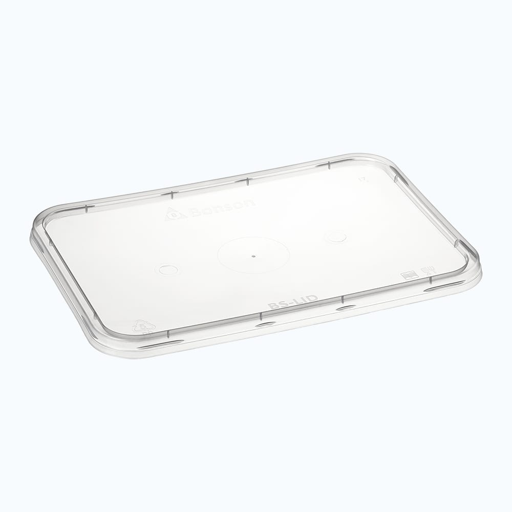 BetterSelection® PP Rectangular Container Flat Lid