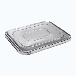 Aluminium Flat Lid For Foil Oblong Trays