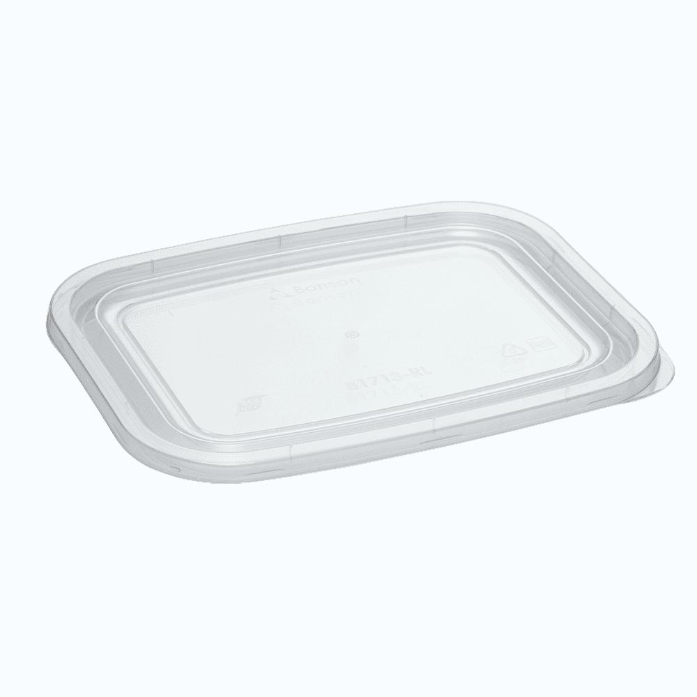 BonWare® PP Reusable Rectangular Container Flat Lid