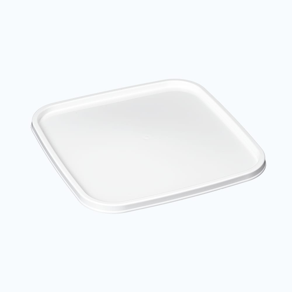 Bonware® PP Square Container Flat Lid