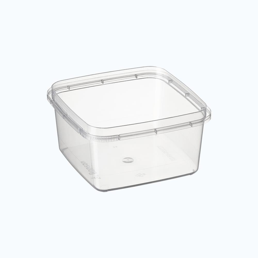 Bonson TE® PP Square Tamper Evident Container