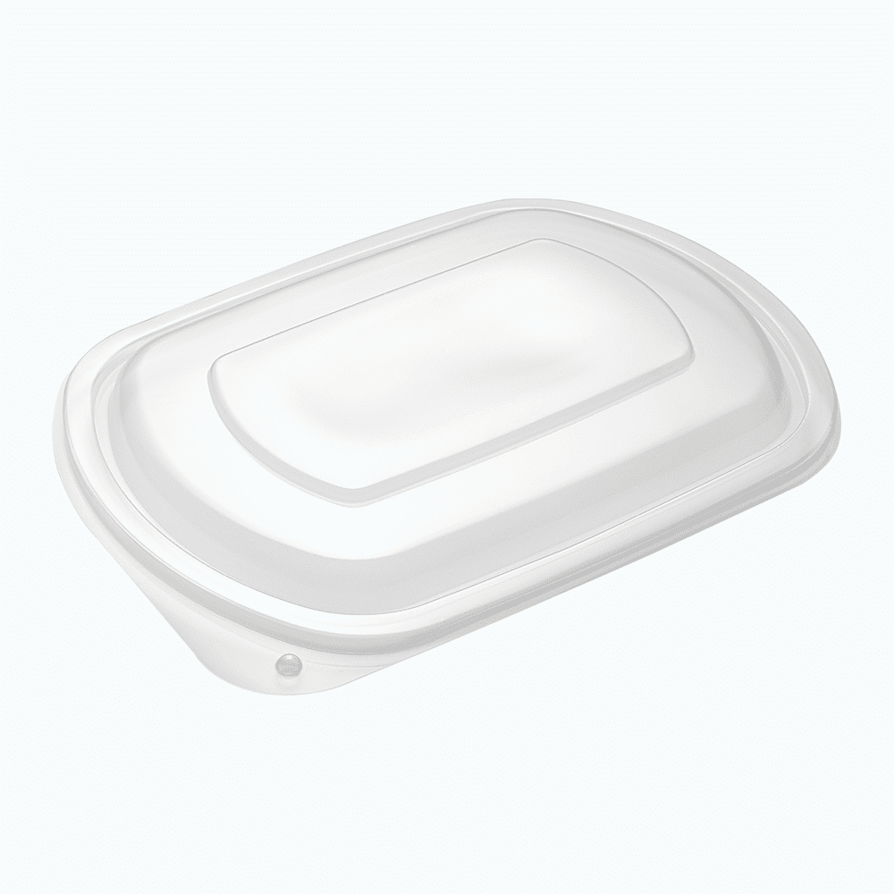 Homeal™ PP Raised Lids for Oval Containers