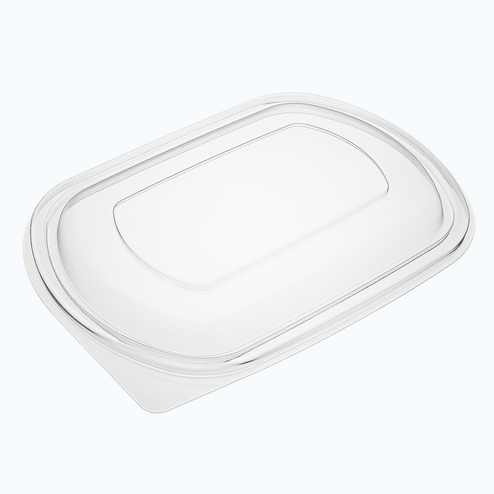 Homeal™ PET Raised Lids for Oval Containers