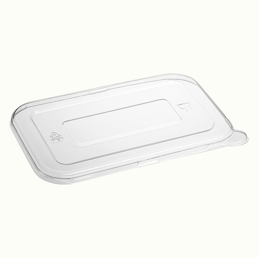 BioChoice<sup>TM</sup> PET Flat Lid for Rectangular Trays