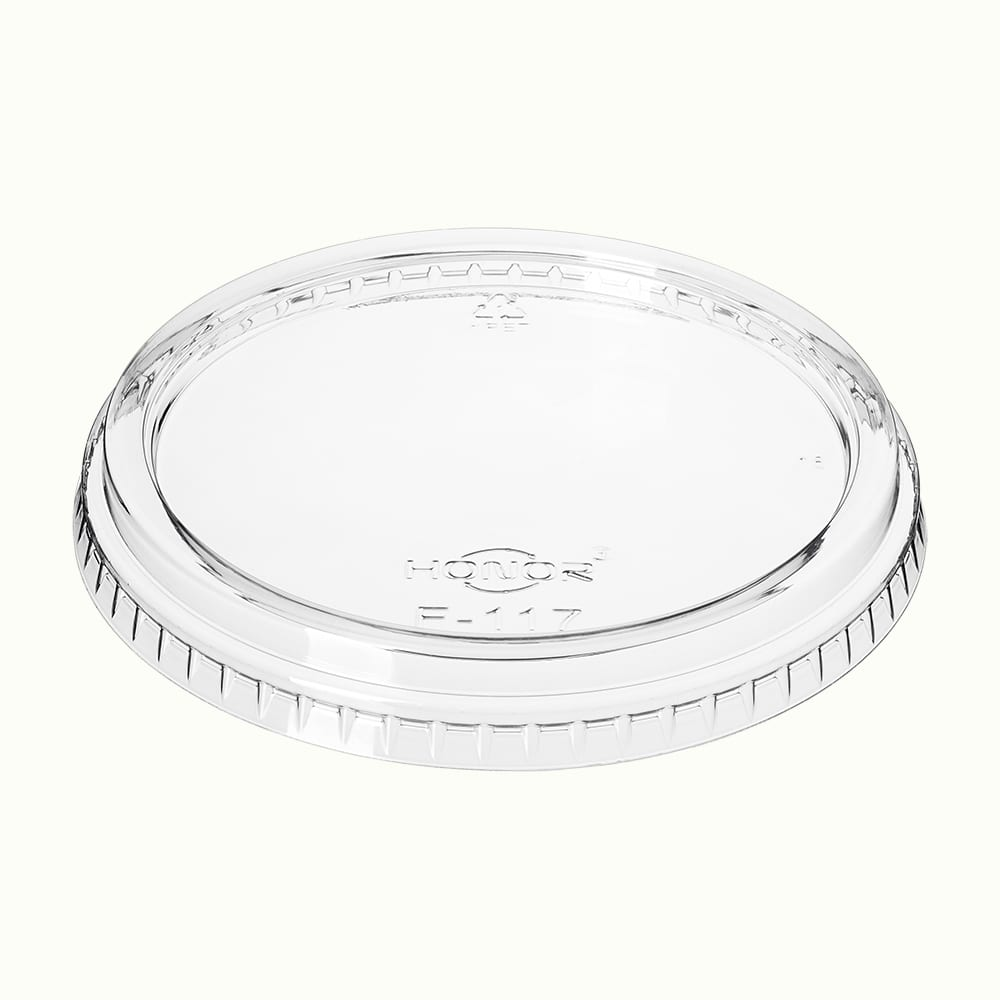 RePlay<sup>TM</sup> rPET Flat Lid for Round Containers