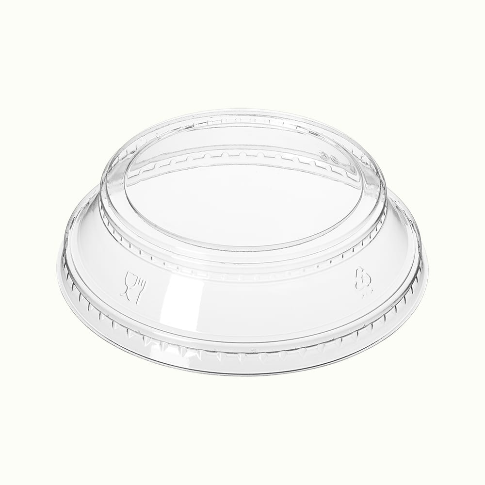 BioChoice<sup>TM</sup> PLA Raised Cup Lid with Insert