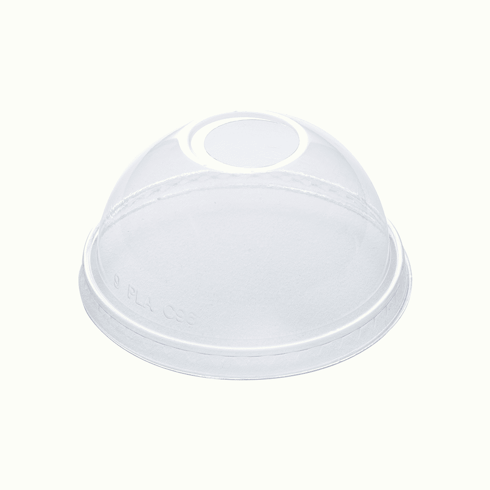 BioChoice® PLA Round Cup Dome Lid
