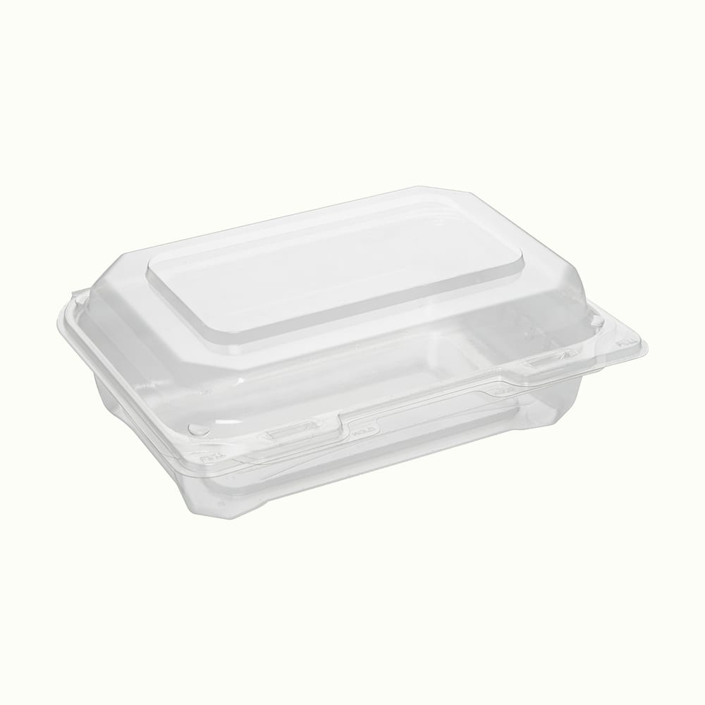 Replay® RPET Rectangular Hinged Lid Container