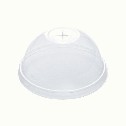 BioChoice PLA Bioplastic Dome Cup Lids with Hole_product_PLA-C76-DX