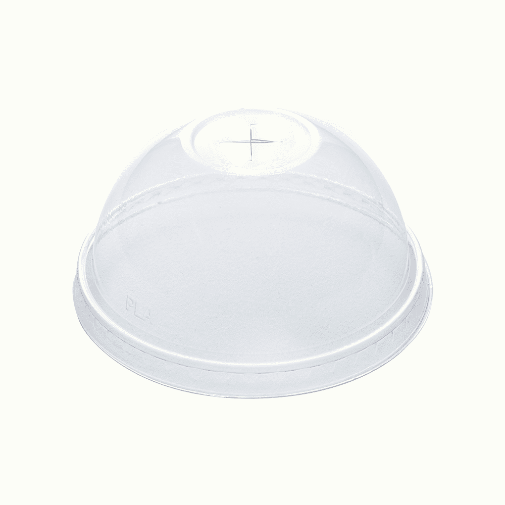 BioChoice<sup>TM</sup> PLA Dome Cup Lids with Hole