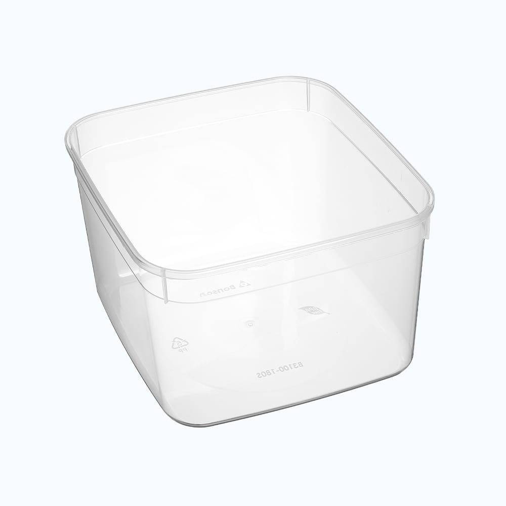 BonWare<sup>TM</sup> PP Square Storage Containers