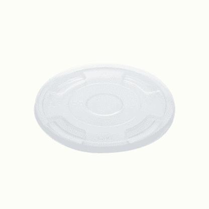 BioChoice PLA Bioplastic Round Cup Flat lid