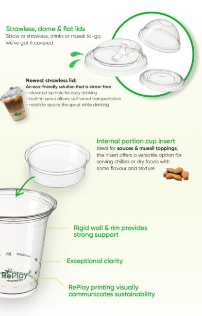 RePlay_rPET cold cups_product feature