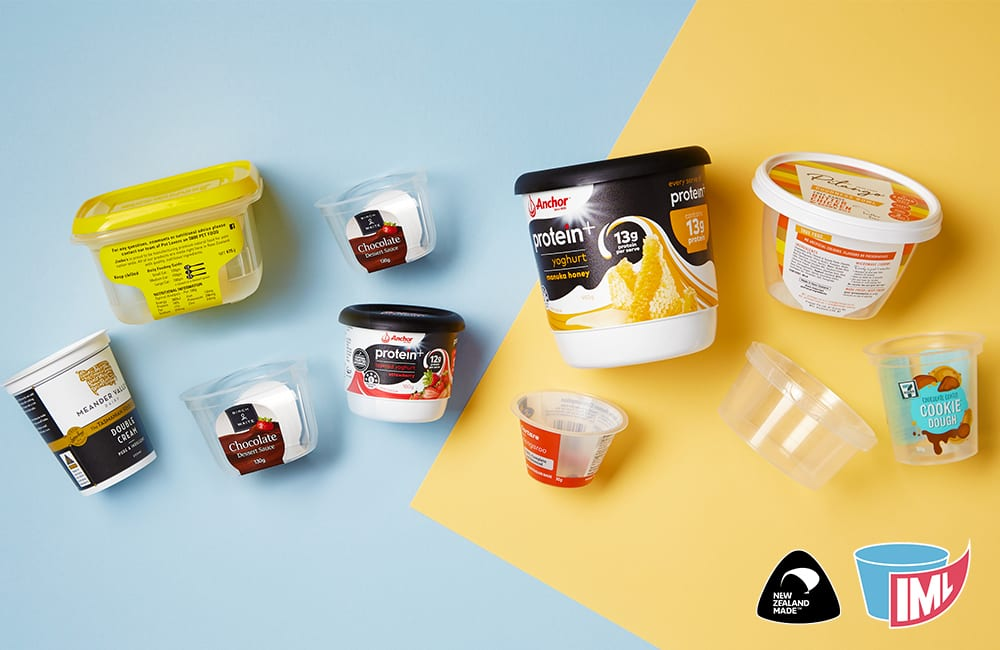 IML – integrated labelling and food packaging custom solution that will give your products 'the edge'