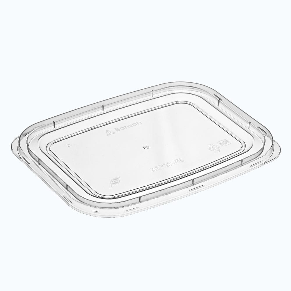 BonWare<sup>TM</sup> PP Flat Lid for Rectangular Storage Containers