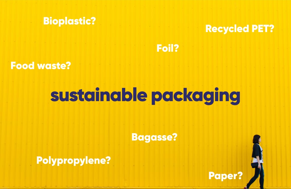 Sustainable packaging – 5 ways YOUR BUSINESS can make better choices