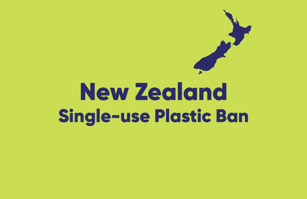 New Zealand — single-use plastic ban explained